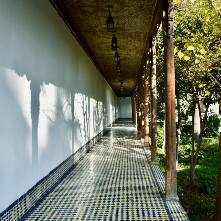 Batha Museum Fez engawa