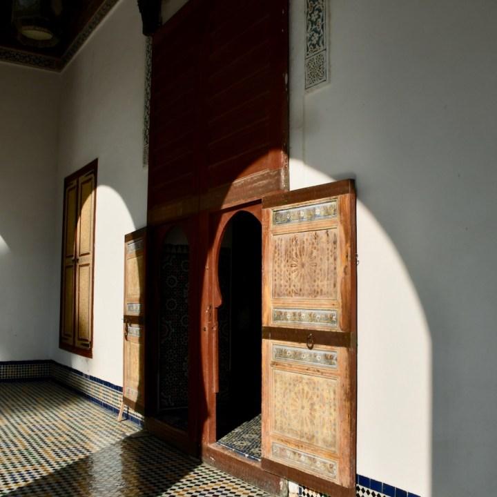 Batha Museum Fez wooden door