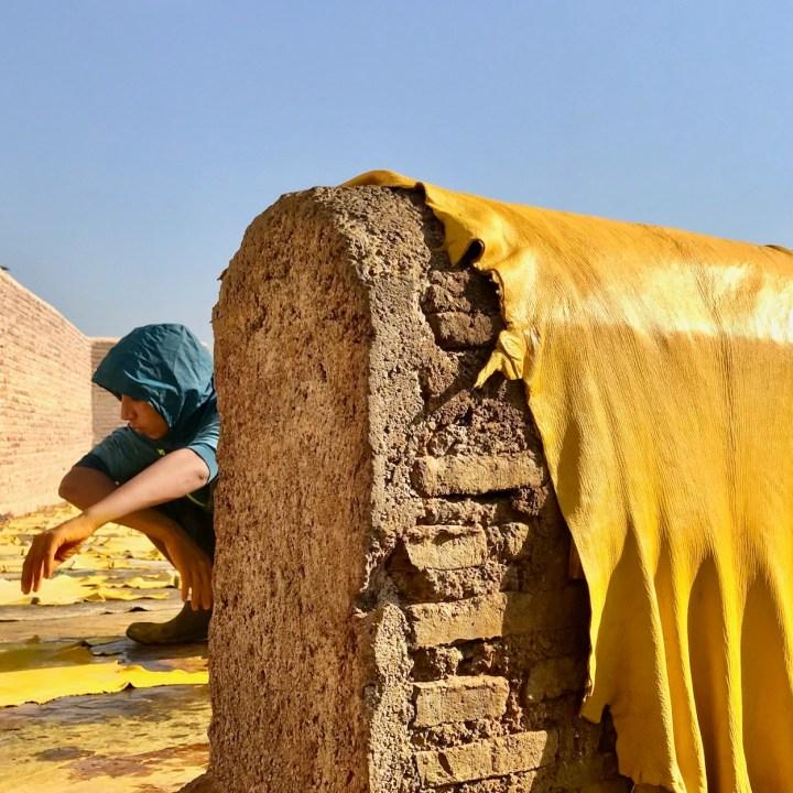 Fes, Morocco | Exploring the Hidden Tannery Ain Azliten in Fes
