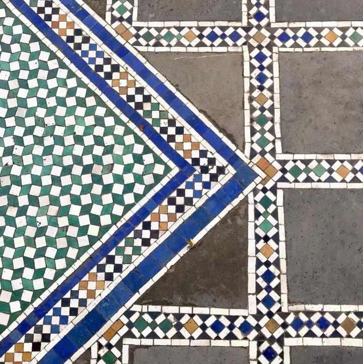 Batha Museum floor tiles