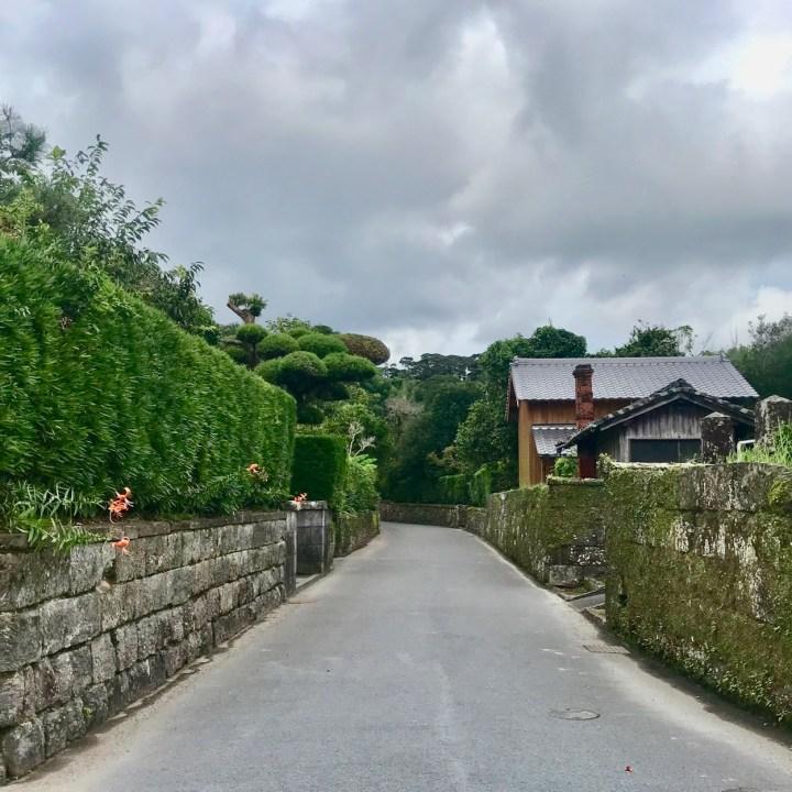 Chiran samurai residences street view