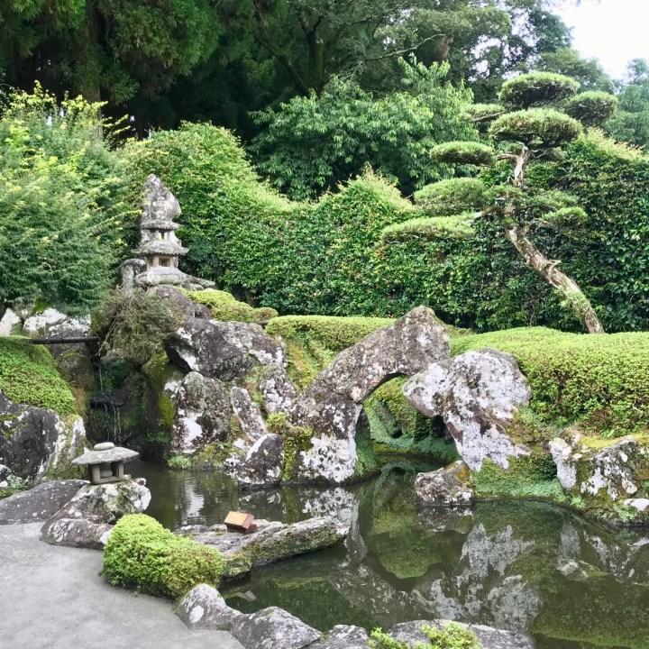 Chiran samurai residence water garden