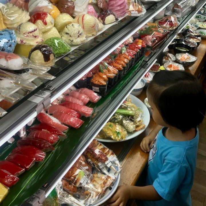 Kappabashi plastic food