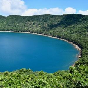 Onamiike lake shore