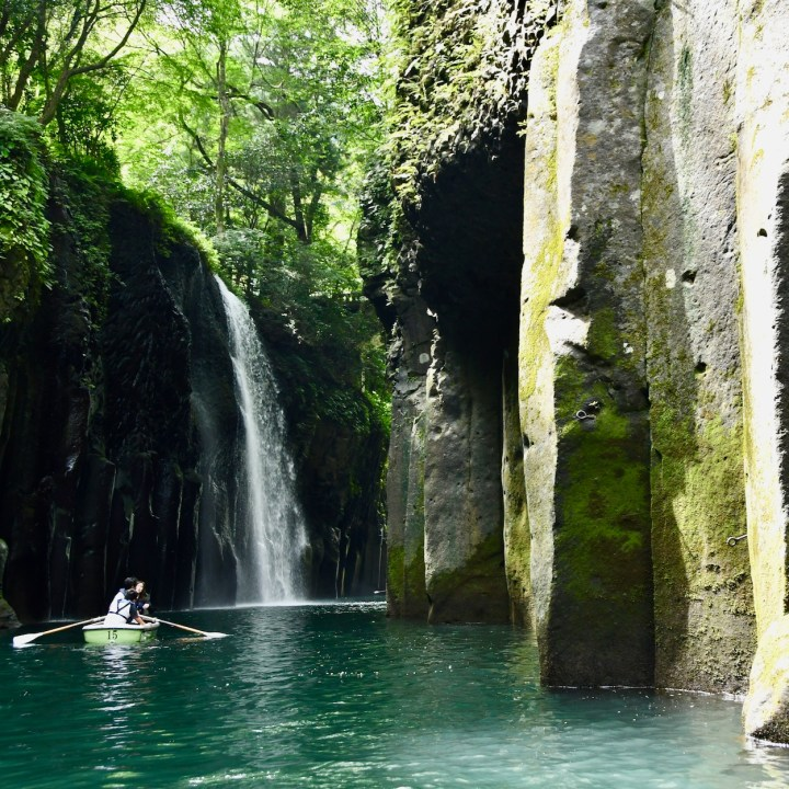 Takachiho Manai waterfall