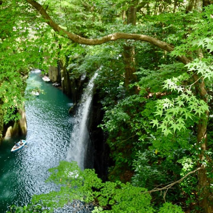 Takachiho Minai waterfall
