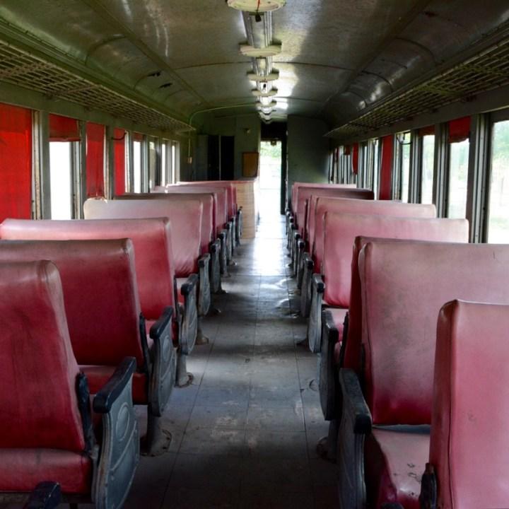 Merida Railway Museum passenger coach