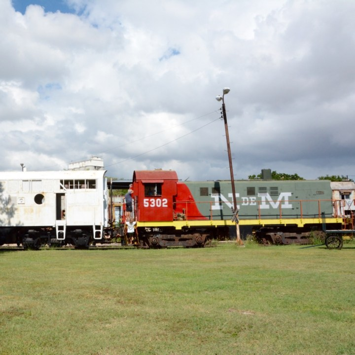 Merida Railway Museum train collection
