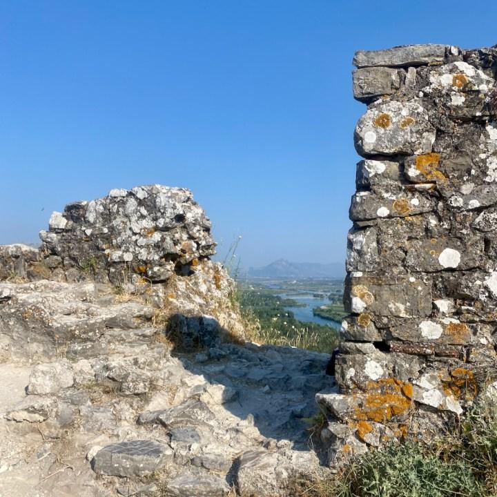 Albania, Shkoder, castle