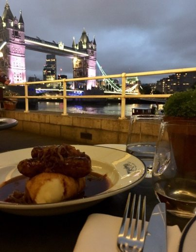 London Restaurants with a View - Butlers Wharf Chop House