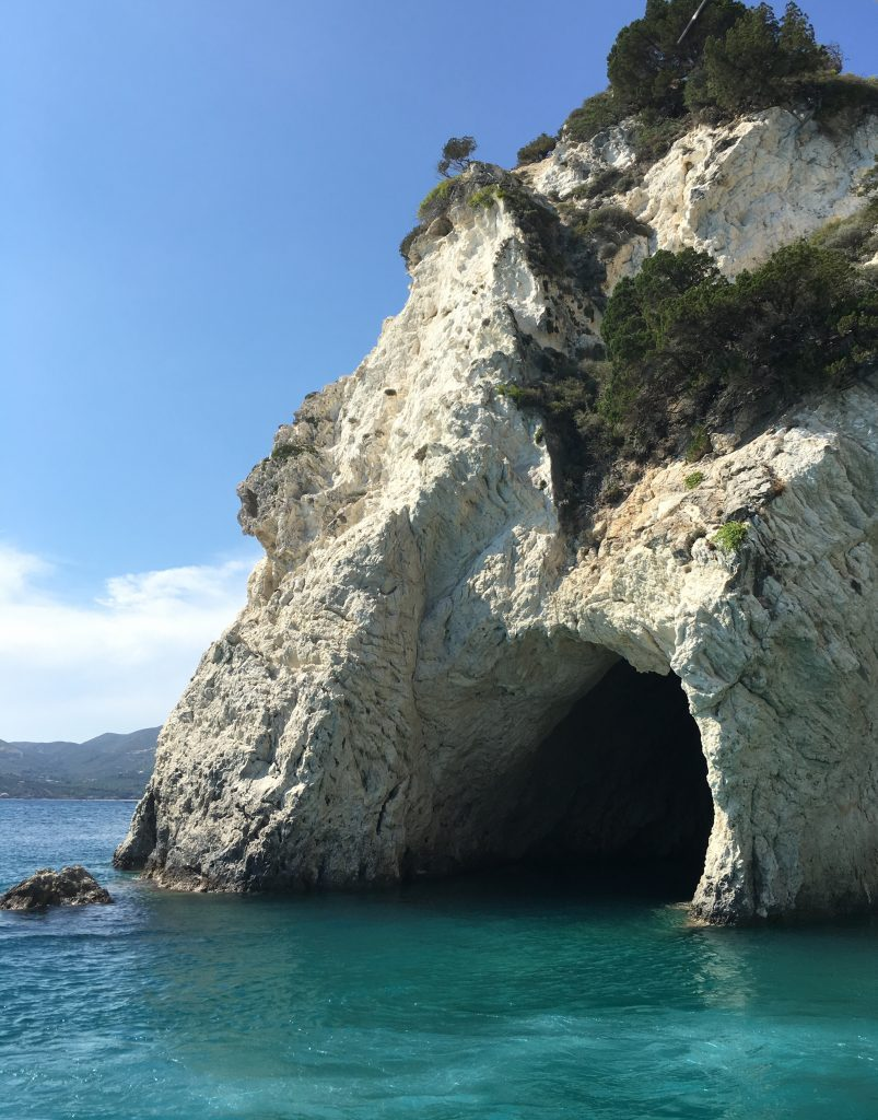 Things to do in Zante - Blue Caves