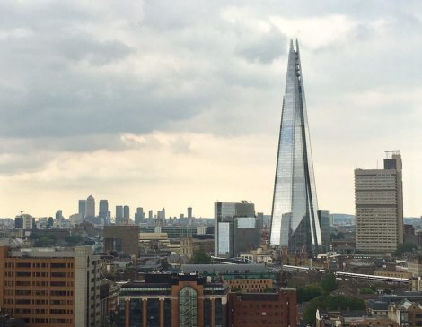 London Restaurants with a view of The Shard