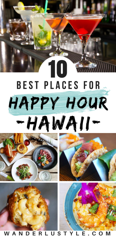 10 BEST HAPPY HOUR IN HAWAII - Hawaii Travel Tips, Hawaii Happy Hour | Wanderlustyle.com