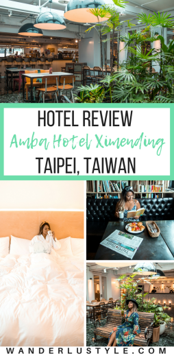 Amba Hotel Ximending in Taipei Taiwan Hotel Review - Fun place to stay in Taipei! | Wanderlustyle.com