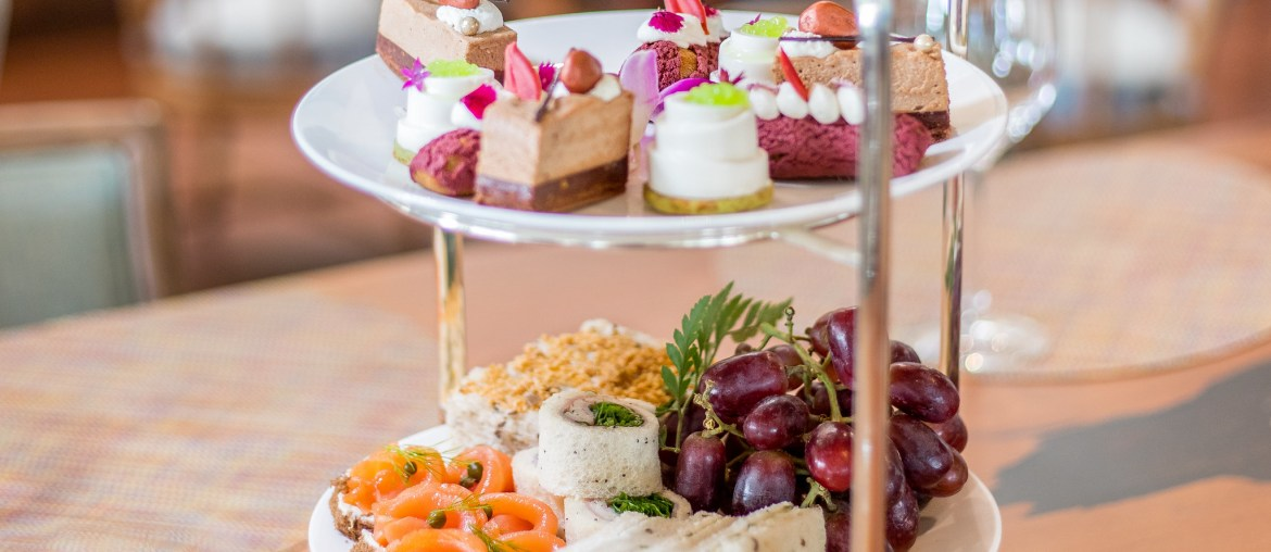 Orchids Afternoon Tea at Halekulani Hotel by Tea Chest Hawaii and Maui Farm Tea - Haleakala Tea | Wanderlustyle.com