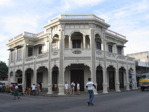 nice colonial building