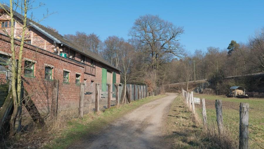 Hülsenhof kurz vor Leichlingen