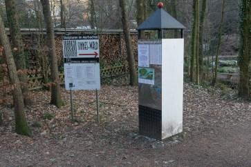Eingang zum Sinneswald