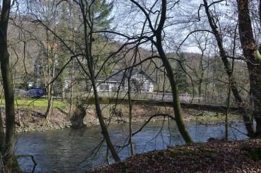 Brücke in Friedrichsaue