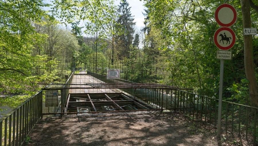 Brücke bei Strohn