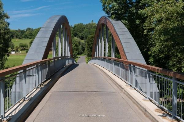 Brücke über die Agger