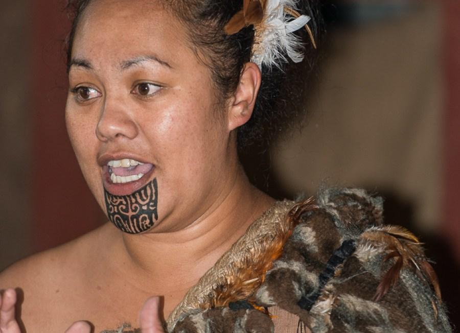 Besuch bei den Maori