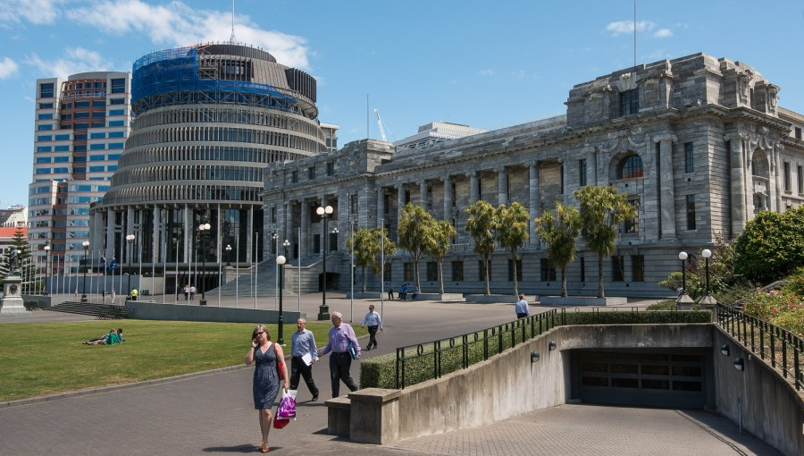 Parlament in Wellington