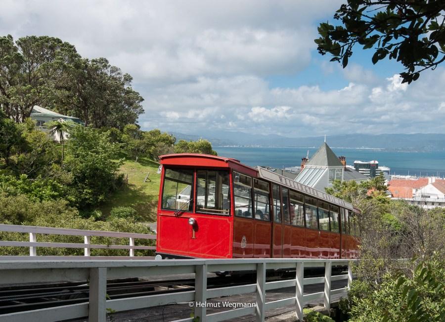 Zahnradbahn in Wellington