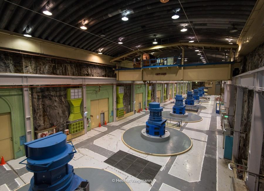 Unterirdisches Wasserkraftwerk