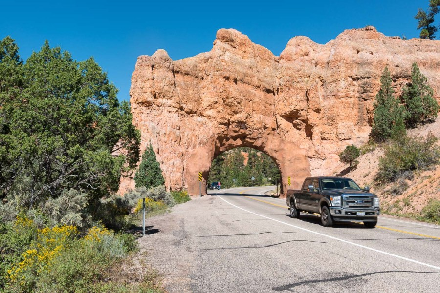 Auf dem Weg zum Bryce CanyonNationalpark