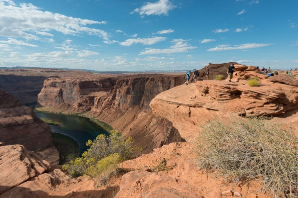 Fotopunkt am Horseshoe Bend