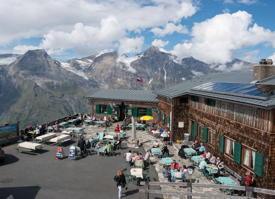 Edelweißhütte an der Grossglocknerstrasse