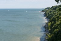 Wanderweg oberhalb der Küste