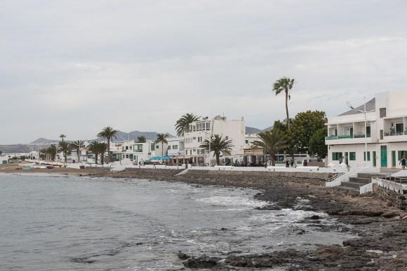 Promenade in Playa Honda