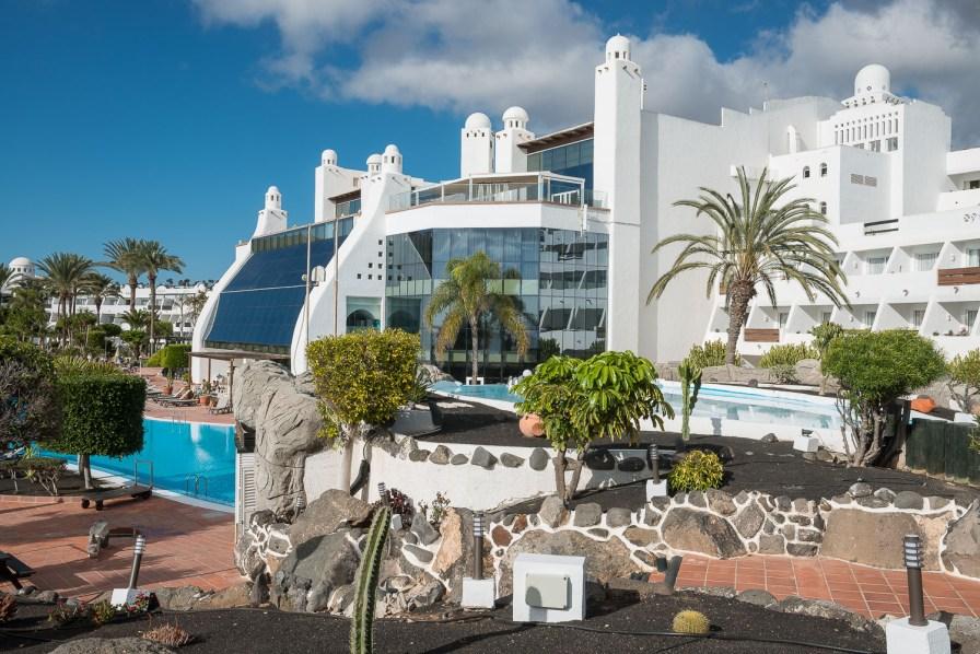 Hotelanlage in Playa Blanca