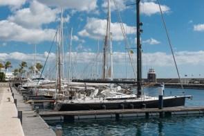 Yachthafen in Puerto Calero