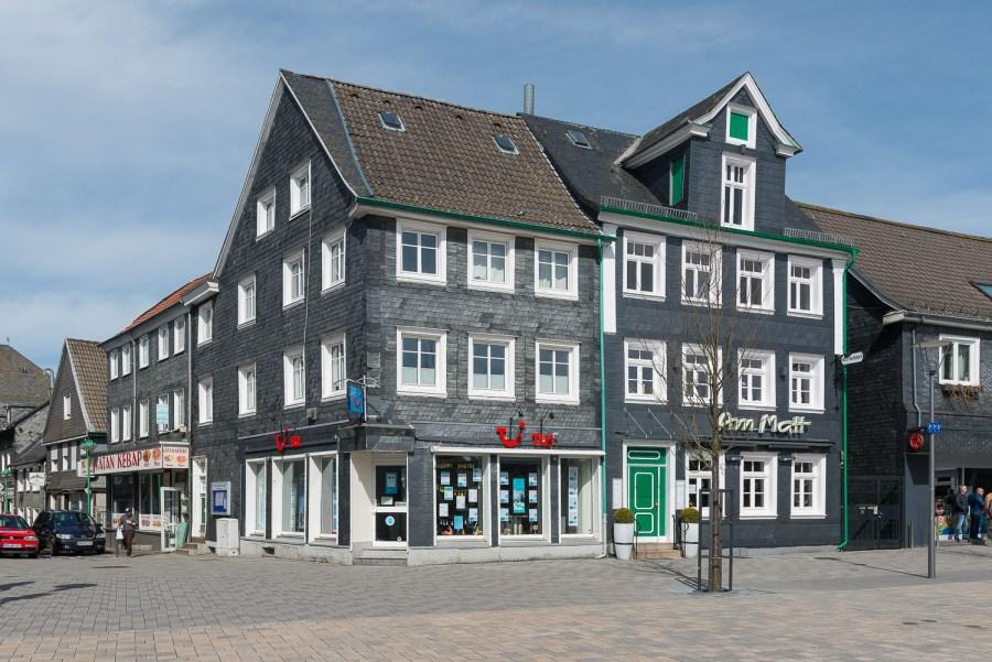 Am Marktplatz in Radevormwald