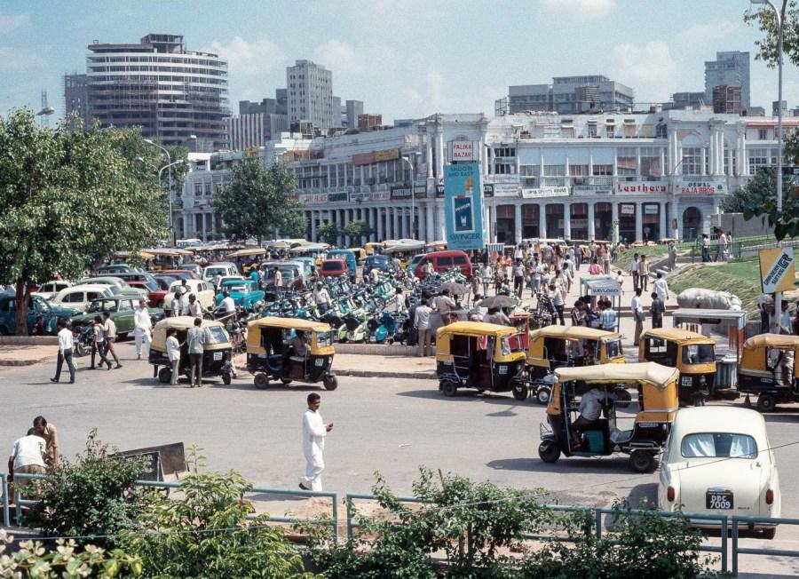 Platz in New Delhi