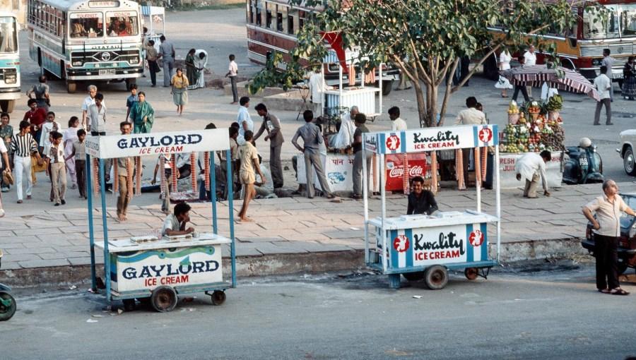 Eissalon auf indisch
