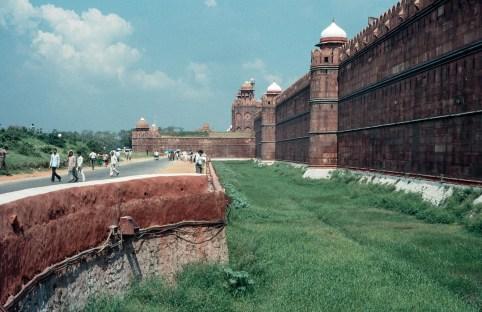 Rote Fort in Delhi