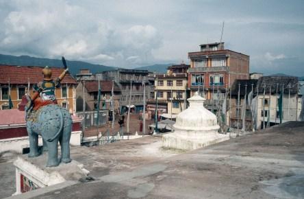 An der Stupa in Bodnath