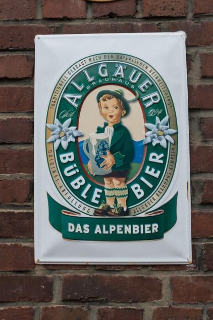 Bayrisches Bier im Bergischen Land