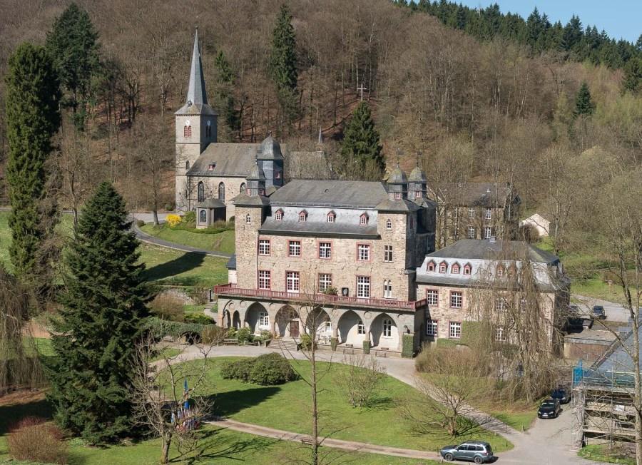 Schloss Gimborn im April 2015