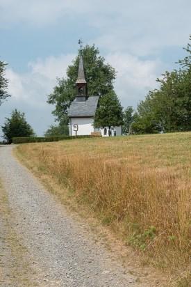 Kapelle kurz vor dem Ziel