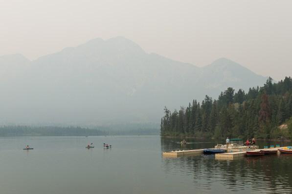 Pyramide Lake bei Jasper