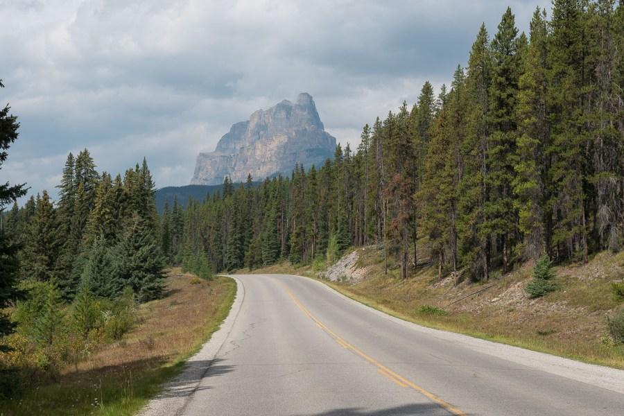 Zwischen Banff und Castle Junction