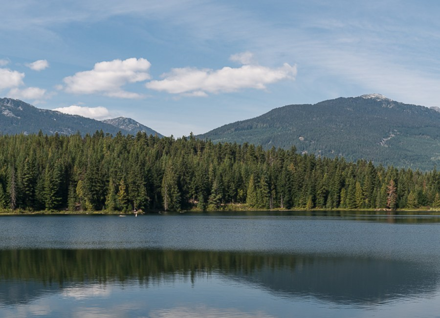 Pano am Lost Lake in Whistler