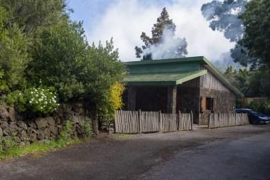 Hütte am Start der Wanderung