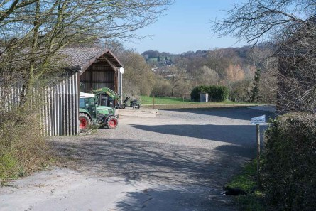 Staderhof am Ortsrand von Leichlingen