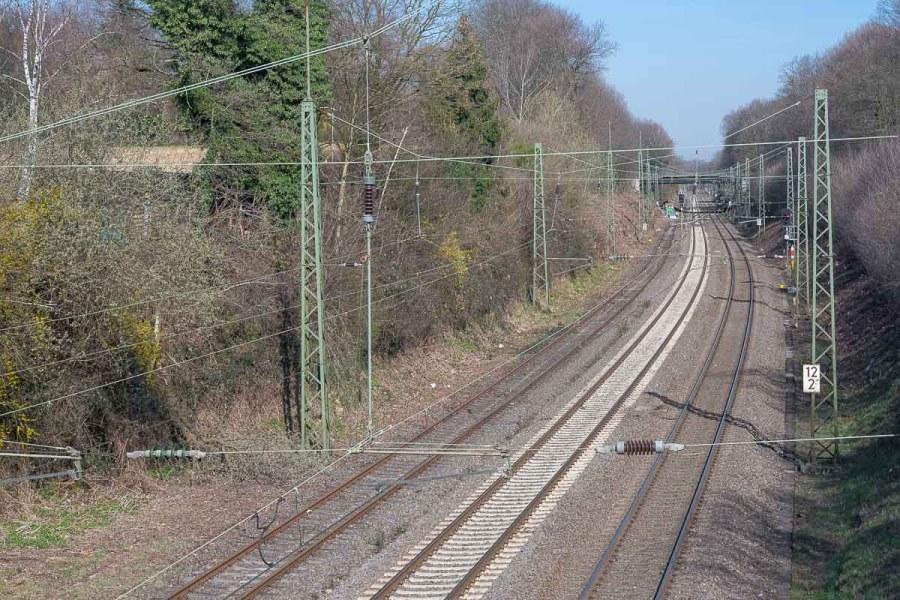 Bahnstrecke nach Solingen
